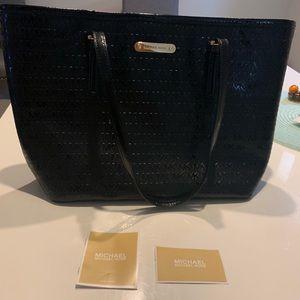 Leather Michael Kors Tote Bag